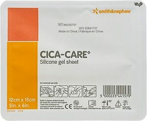 "*1-Pack* Smith & Nephew CICA-Care self-Adhesive 5"" x 6"" Gel Sheet 66250707"