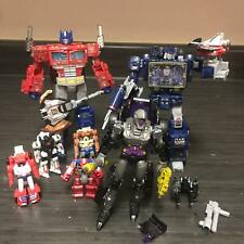 Transformers Siege 9 lot Optimus Prime Nightbird Soundwave Laserbeak Ravage MORE