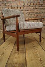60er Teak Sessel Danish Modern Easy Lounge Chair Clubsessel Mid-Century Fauteuil