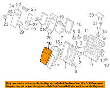 BMW OEM 04-06 X3 Rear Seat-Seat Cover-Top Back Left 52203410370
