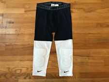 Men's Nike Pro Combat Basketball Tights Knee Pads Size 2XL-T Brand New