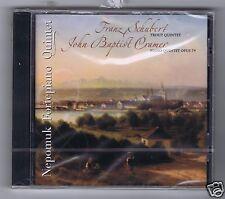 SCHUBERT/ CRAMER CD NEW NEPOMUK FORTEPIANO QUINTET