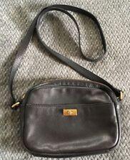 J.CREW Black Leather Crossbody Purse Bag-MINT