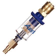 Mini Wasserabscheider Auarita Filter Druckluft für Lackierpistole Schnellkupplun