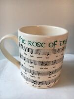 """Vintage Carrigaline Ireland """"The Rose Of Tralee"""" collectible coffee cup"""