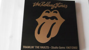 >> THE ROLLING STONES - Trawlin`The Vaults <> rare Box <<
