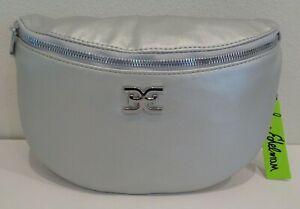 Sam Edelman SOPHIA Silver New Womens Shoulder Belt Bag