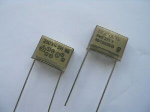2 PIECES 22nF 250VAC Y2 KEMET / EVOX RIFA PME271Y SUPPRESSION CAPACITORS