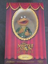 Sideshow Weta Ltd Edition Muppets Polystone Busto-Scooter Sellado