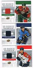 2008-09 ZACH BOGOSIAN UPPER DECK SERIES 2 UD ROOKIE MATERIALS #RM-ZB THRASHERS