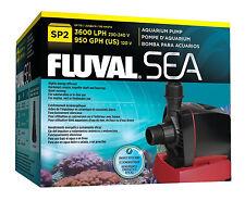 Fluval Sea Aquarium Sump Pump SP2 Marine Or Freshwater Underwater Filter 950GPH