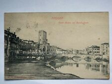 PADOVA Ponte Molino sul Bacchiglione vecchia cartolina