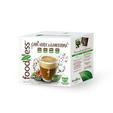 FOODNESS 10 Capsule Caffè VERDE e GANODERMA Dolce Gusto Senza Glutine e Lattosio