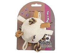 Natural Nippers Loopy Fun Ball Dog Toy 8cm