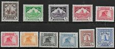 Iraq 1941 Pictorial Issue - SS including 10 fils red - MLH