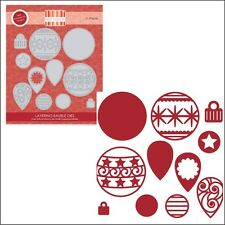 Layering Bauble metal die set - Trimcraft cutting dies Christmas Ornaments