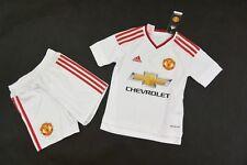 Full Kit Adidas Manchester United 2015-16 Away Shirt Short SIZE 7-8 years 128cm