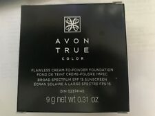 AVON True Color FLAWLESS CREAM TO POWDER Creamy Natural plus FREE SHIPPING