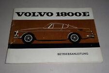 Betriebsanleitung / Handbuch Volvo P 1800 E Stand 02/1970 deutsch