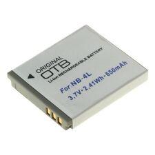 Akku für Canon Digital Ixus 30, 40, 50, 55, 60, 65, 70, 75, 85 IS, 82IS - NB-4L
