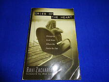 CRIES OF THE HEART  BY  RAVI ZACHARIAS  - PB BOOK!!