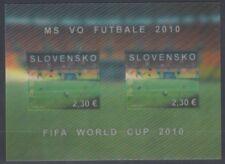 """SLOVAKIA 2010 FIFA WORLD CUP MINI SHEET MINT """"3D"""" (ID:499/D53257)"""