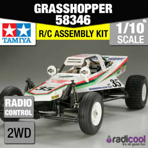 58346 TAMIYA THE GRASSHOPPER (2005) 1/10th R/C KIT RADIO CONTROL 1/10 BUGGY NEW!