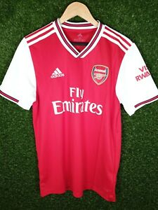 Mens Arsenal FC Home 19/20 Football Shirt Size Medium BNWT (Shirt 2)