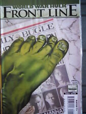 WORLD WAR HULK Front Line n°1 of 6 2007 ed. Marvel Comics  [SA8]