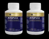 BioCeuticals ArmaForce 120 Tablets Immune Health Booster (2 Bottles)
