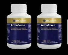 BioCeuticals ArmaForce 120 Tablets Immune Health Booster (2 Bottles)