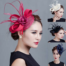 New Spring Racing Party Melbourne Cup Feather Fascinator Headband Hairband Clip