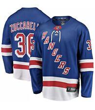 New York Rangers Mats Zuccarello #36 Fanatics Premier Blue Jersey Men's Medium