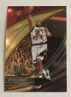 2019-20 Panini Select KYLE LOWRY Court Side FOTL Raptors #231