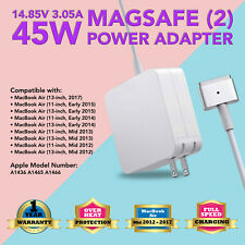 "45W AC Charger Power Adapter Cord for 2013-2015 Apple Macbook air 11"" Magsafe 2"