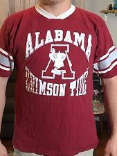 Vintage Alabama Crimson Tide Tshirt Old School Bama T-shirt Mens Medium
