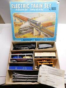 O Scale - MARX - Vintage #52875 Union Pacific Steam Locomotive Train Set in Box