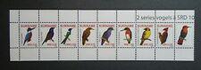 RECENT BIRDS WILDLIFE STRIP/SET VF MNH NEDERLAND SURINAME B311.22 0.99$