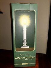 Restoration hardware Window Candle Lamp Nickel