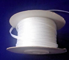 2 mtrs IWhite single faced Satin Ribbon 35 mm 1.50 inch wide