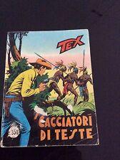 TEX COLLANA GIGANTE Nr°158 - I CACCIATORI DI TESTE - lire 350 Aprile 1977