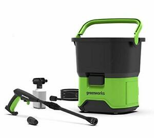 Greenworks GDC40 Cordless High-Pressure Washer Cleaner, Built in Tank