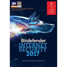 Bitdefender Internet Security 2017 - 1 Devices 175 days+ / Subscription