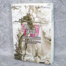 FINAL FANTASY V 5 ADVANCE Official Complete Guide Japan Book GBA SE26*