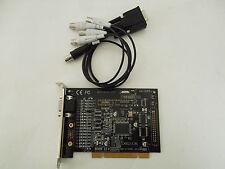 Aposonic 4-Channel Digital Surveillance Security Systems PCI Card MPEG4 RW-1030S