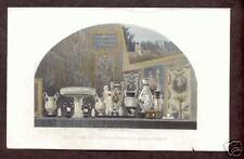 Porcelain VASES 1810 Hand Colored Antique Print