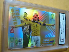 FALCAO COLUMBIA 2014 ADRENALYN XL FIFA WORLD CUP TOP MASTER GRADED 10