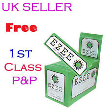 EZEE Green Cigarette Rolling Paper Booklets Full Box 100 X 50 @ £ 8.59