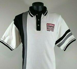 INDY Car Racing Target Chip Ganassi Team Golf Polo Shirt Mens M Vintage Indycar