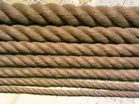 Rope - Synthetic Hemp for Decking, Garden and Boating (3-32mm)